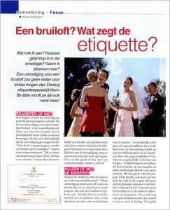 Bruiloft etiquette